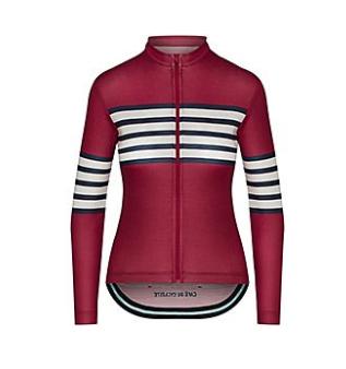 Claudette chili maillot femme café du cycliste