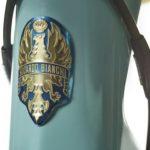 Détail Bianchi Specialissima Pantani